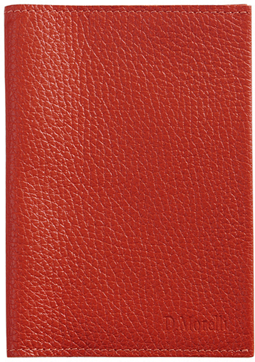 Обложка для паспорта женская D. Morelli Монтана, цвет: красный. DM-PS05-F007 обложка для паспорта женская d morelli lime цвет салатовый