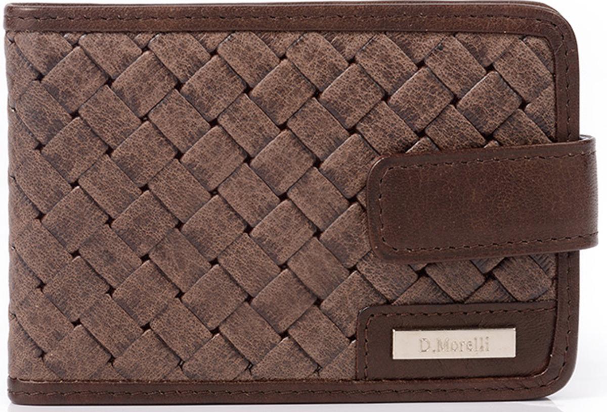 Визитница мужская D. Morelli  Денвер , цвет: коричневый. DM-WZ04-R012 -  Визитницы