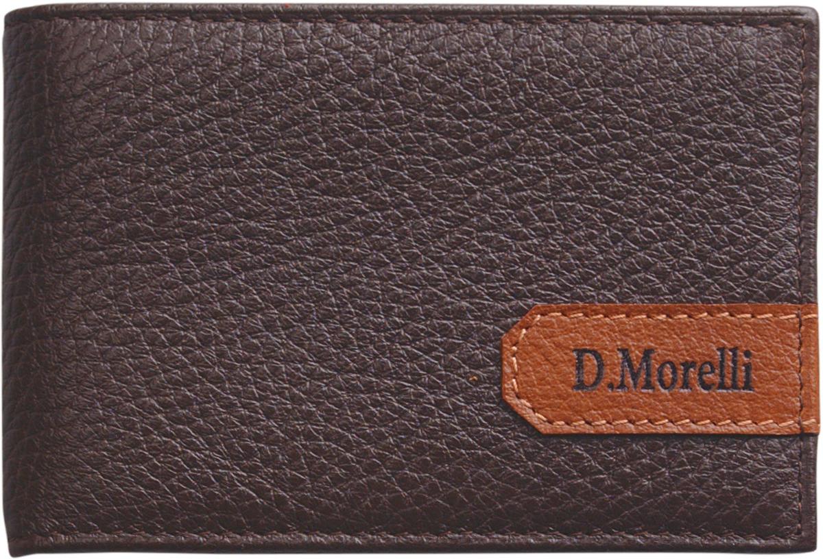 Визитница мужская D. Morelli  Вестерн , цвет: коричневый. DM-WZ11-KF02 -  Визитницы