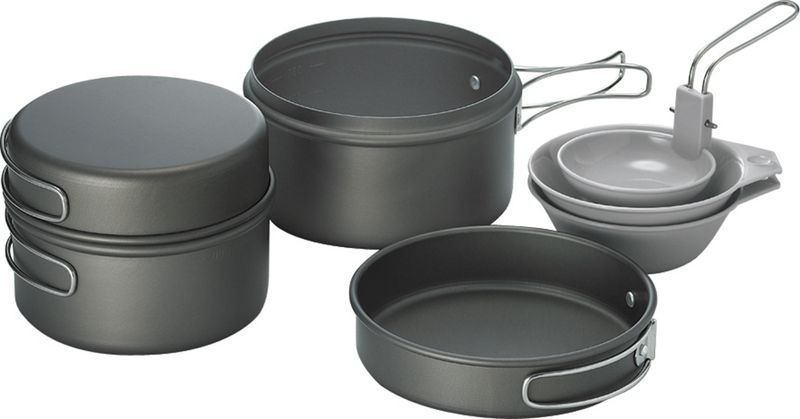 Набор походной посуды Kovea KSK-SOLO2 -(KSK-SOLO2-000-00), 7 предметов