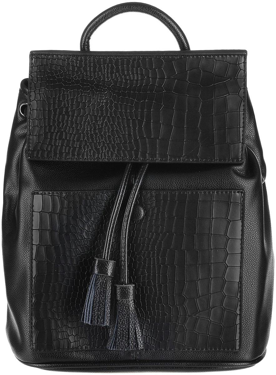 Рюкзак женский Baggini, цвет: черный. 29514/10