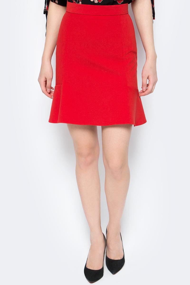 Юбка женская adL, цвет: красный. 12733795000_006. Размер S (42/44)12733795000_006Стильная юбка adL выполнена из высококачественного материала. Модель длины мини. Изделие застегивается сзади на скрытую застежку-молнию.Данная модель прекрасно сможет подчеркнуть ваш индивидуальный стиль.