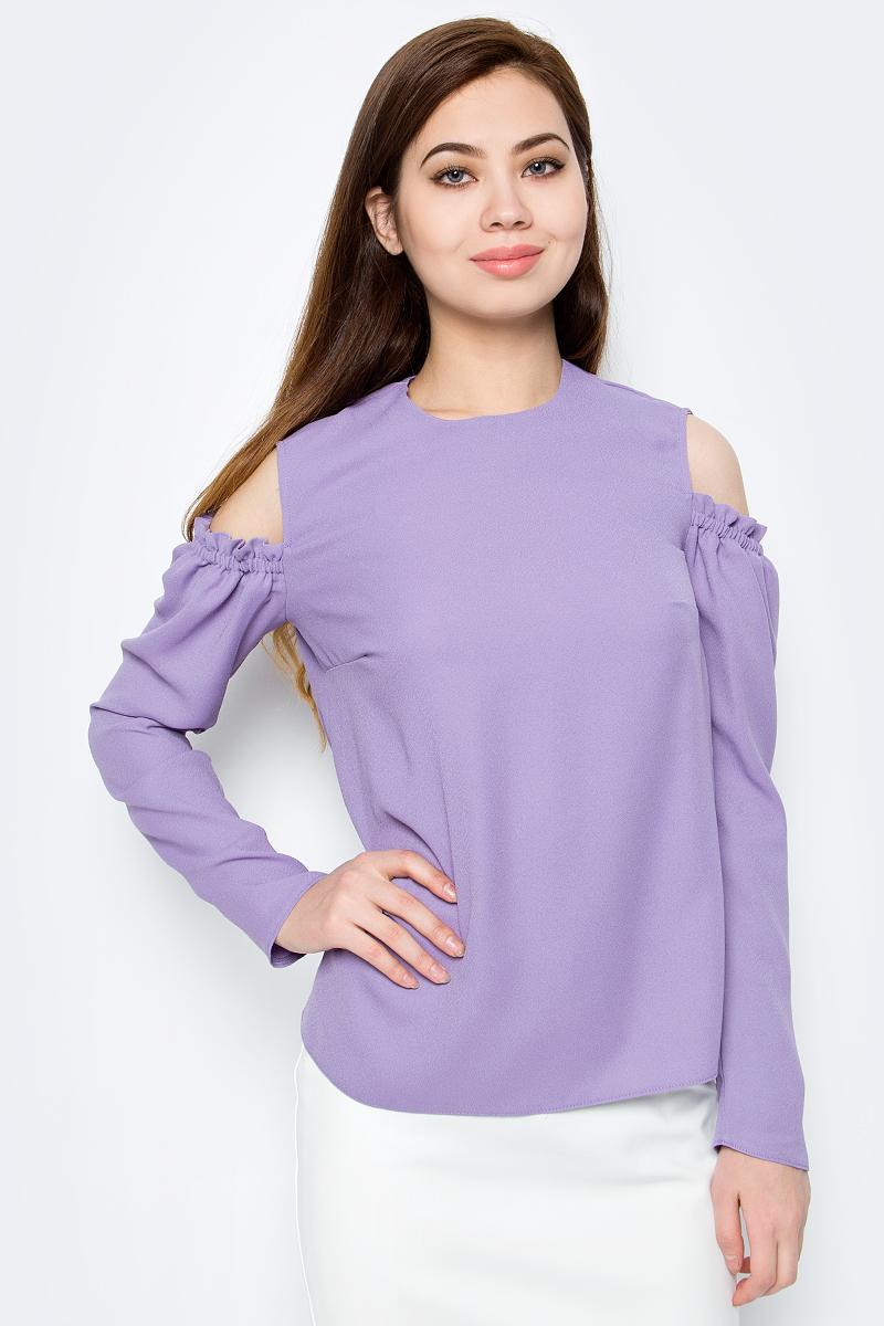 Блузка женская adL, цвет: лиловый. 11533432000_024. Размер XS (40/42)