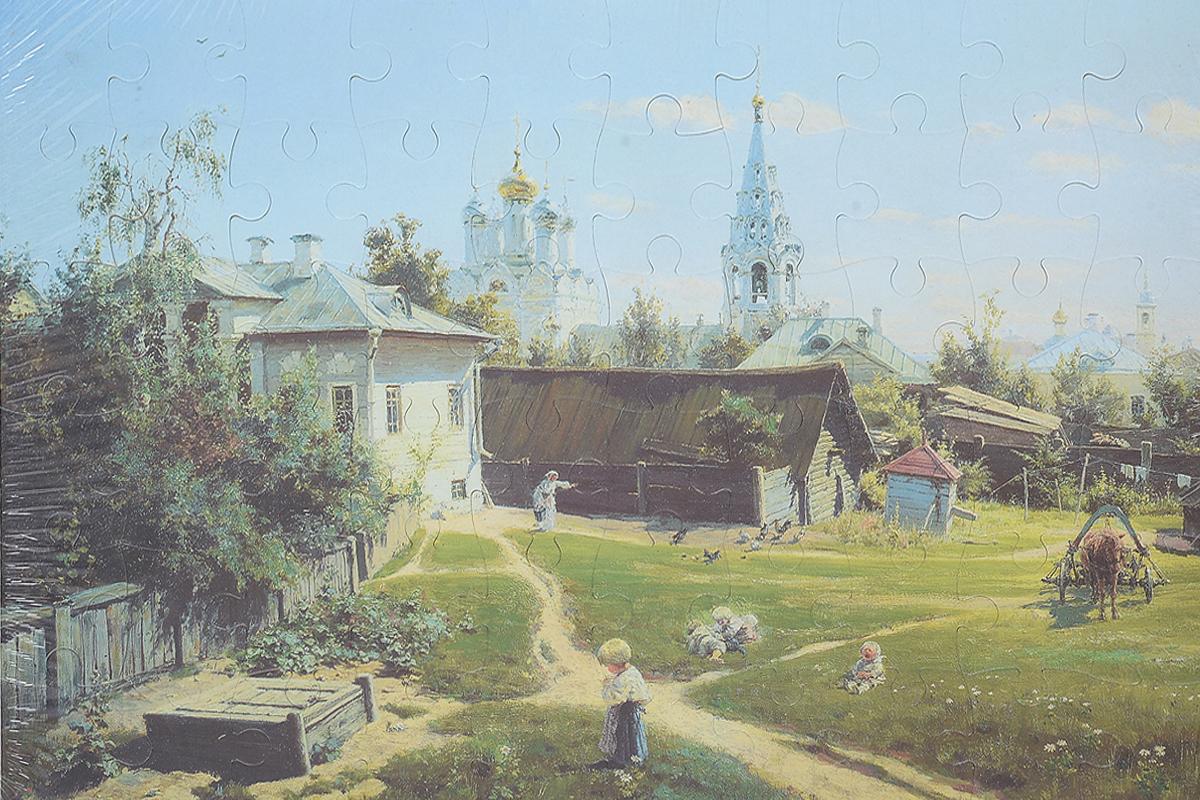 Пазл. Московский дворик