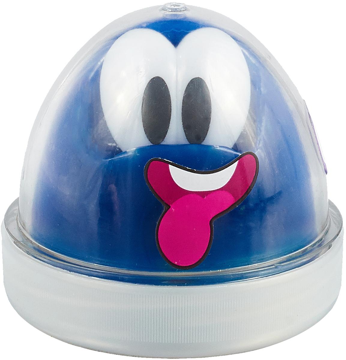 Genio Kids Пластилин для детской лепки Smart Gum светящийся в темноте цвет синий -  Пластилин