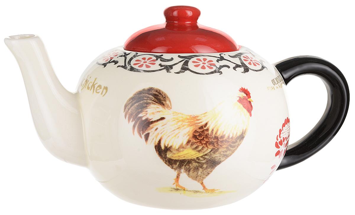 """Заварочный чайник """"Тоскана"""" изготовлен из высококачественной керамики. Посуда из данного материала позволяет максимально сохранить полезные свойства и вкусовые качества воды. Украшенные изящным рисунком стенки чайника, придают ему эстетичности на столе. Чайник изысканно украсит стол к чаепитию и порадует вас классическим дизайном и качеством исполнения."""