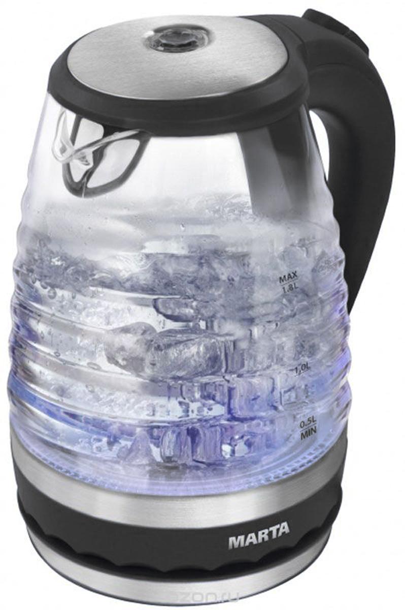 Marta MT-1085, Black Pearl чайник электрический чайник электрический sterlingg 2200w 1 7 л белый