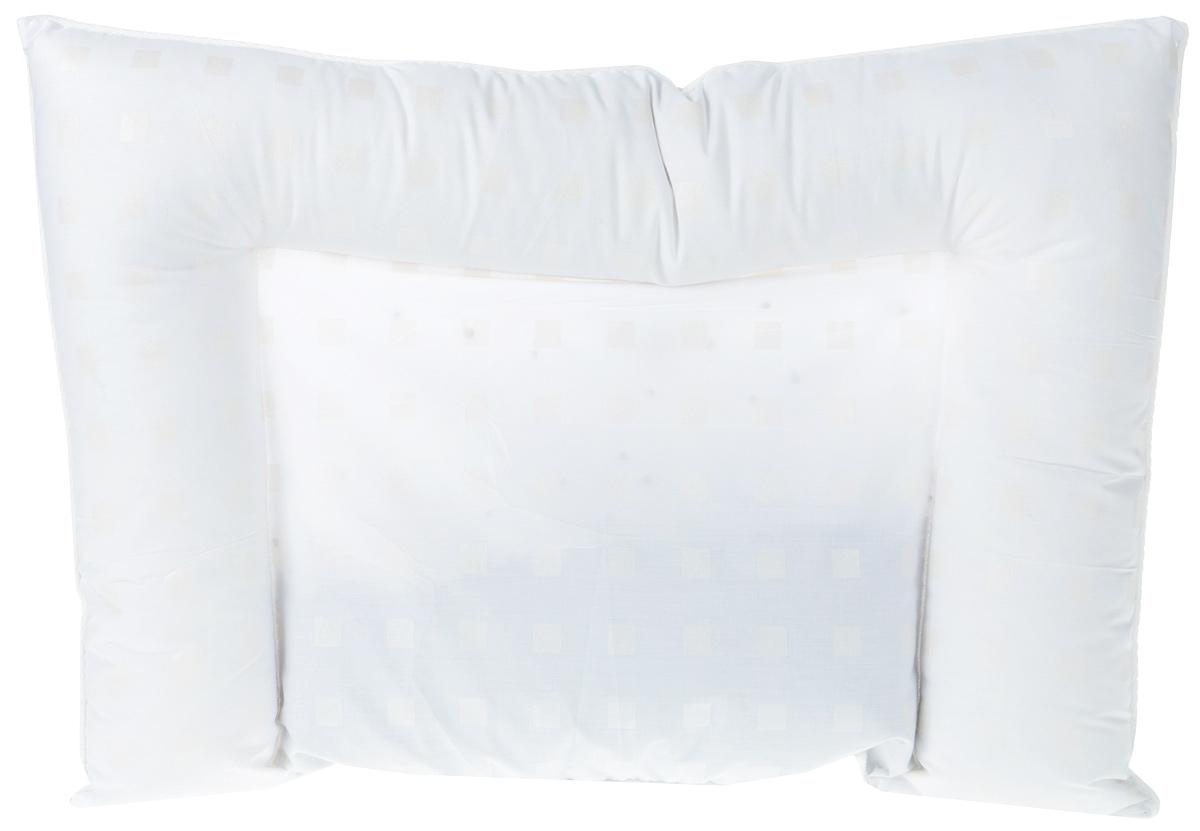 Bio-Textiles Подушка детская Малышка, наполнитель: лузга гречихи. 40 х 60 см. М262 подушки bio textiles подушка здоровый сон с искусственным лебяжьим пухом и овечьим мехом размер 40х40