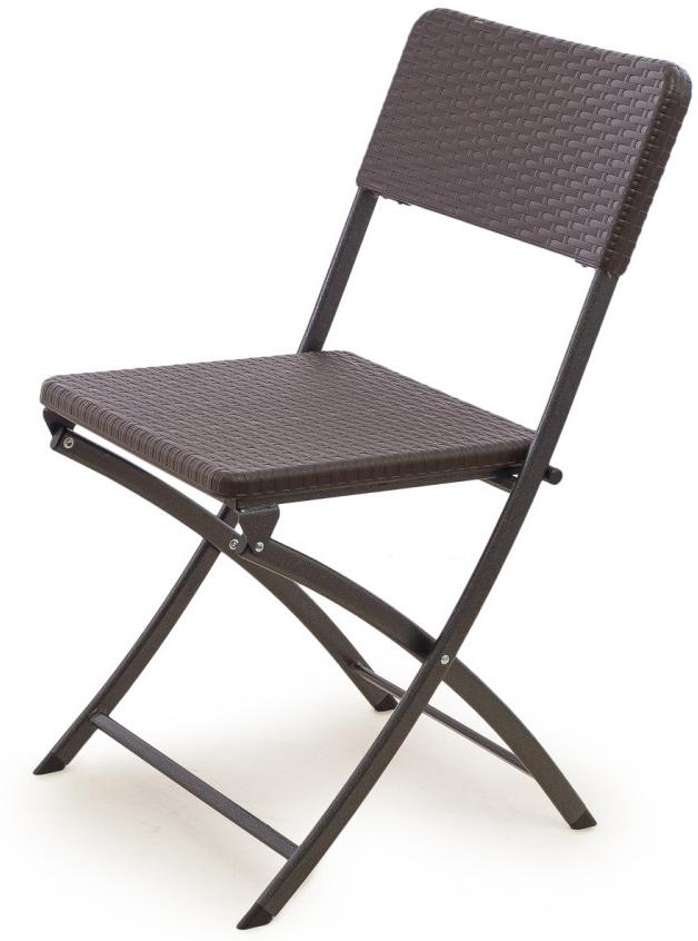 Стул складной Green Glade, цвет: темно-коричневый стул складной для сада green glade 54х47х89 см