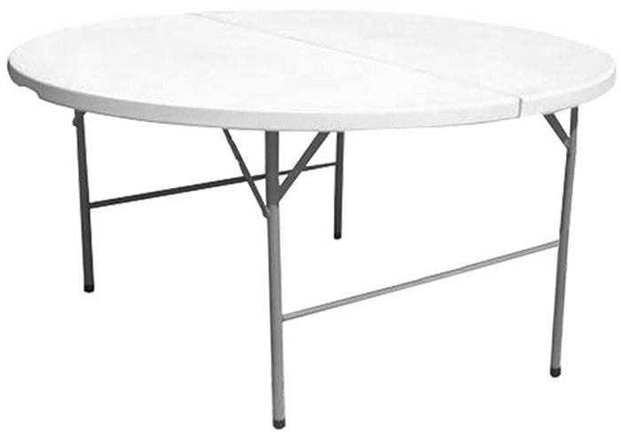 Стол складной Green Glade, цвет: белый. F160F160Диаметр: 160 см- Высота: 74 см- Размер стола в сборе: 160х80х9 см- Каркас: стальная труба O 28 мм- Столешница: качественный, приятный на ощупьпластик HDPE (ш 4,5 см)- Цвет: Белый- Каркас: стальная труба O 25х1 мм- Столешница: качественный, приятный на ощупьпластик HDPE, имитация под дерево- Цвет: КоричневыйУпаковка: 1 шт/1 коробкаВес нетто 20 кгВес брутто: 21,5 кгРазмер упаковки: 169X89X10 смТорговая марка Green GladeСтрана производства Китай В ассортименте с 2017 г.