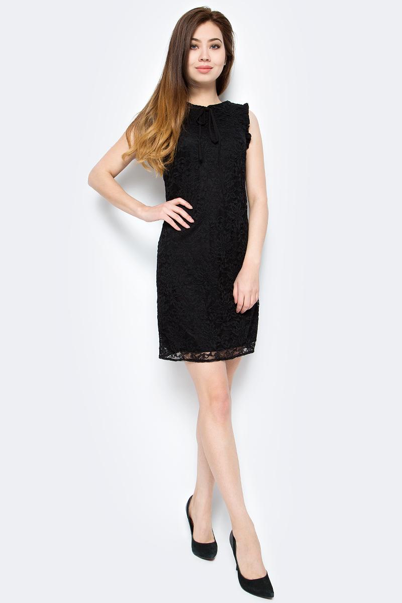 Платье женское adL, цвет: черный. 12433547000_001. Размер XS (40/42) платье adl adl ad005ewqdk48