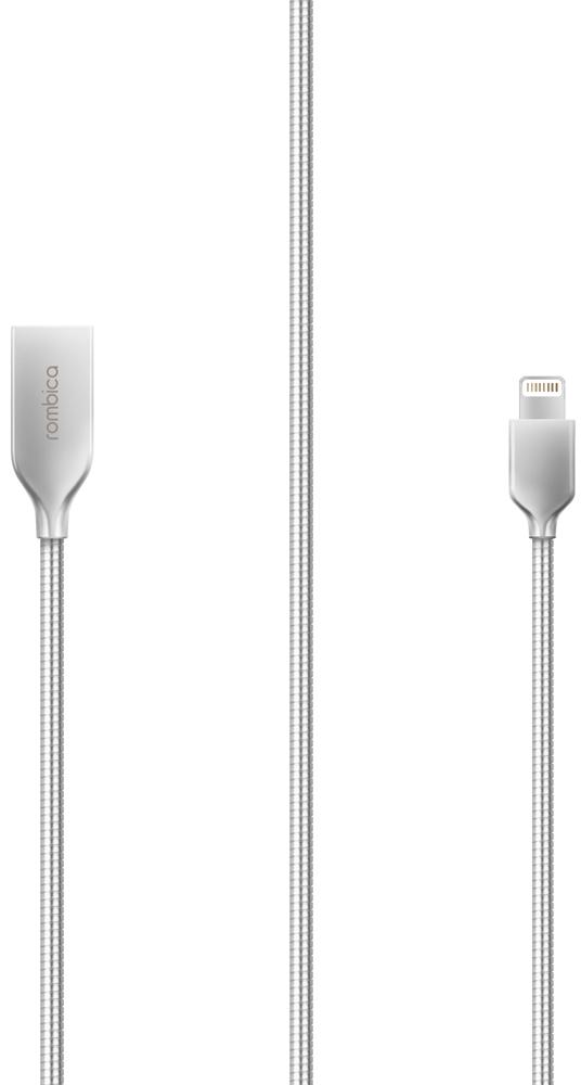 Фото Rombica Digital IS-10, Silver кабель USB-Lightning (1 м) rombica twist silver usb microusb кабель