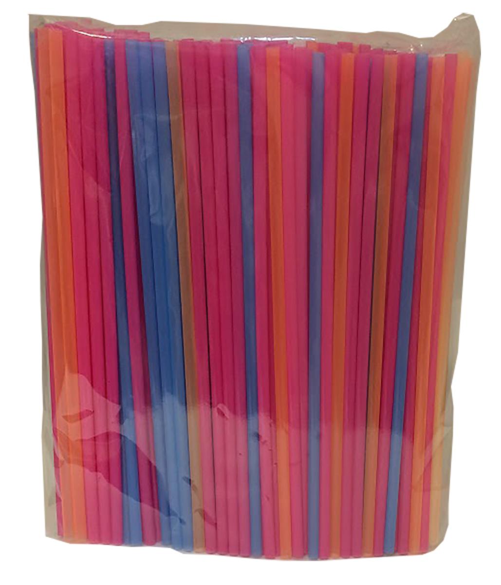 Трубочки для коктейлей Фарт, без изгиба, 210 х 5 мм, 250 шт трубочки для коктейлей фарт прямые прозрачные 240 х 8 мм 500 шт