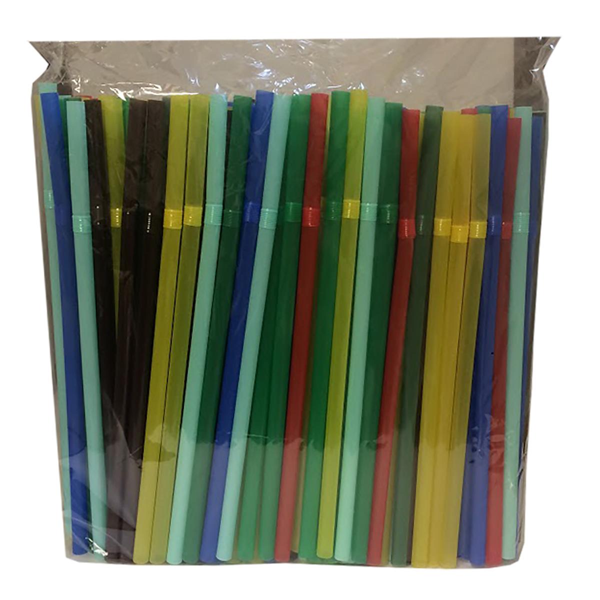 Трубочки для коктейлей Фарт Джамбо, с изгибом, 240 х 8 мм, 250 шт набор трубочек для коктейлей кристалл с изгибом 250 шт