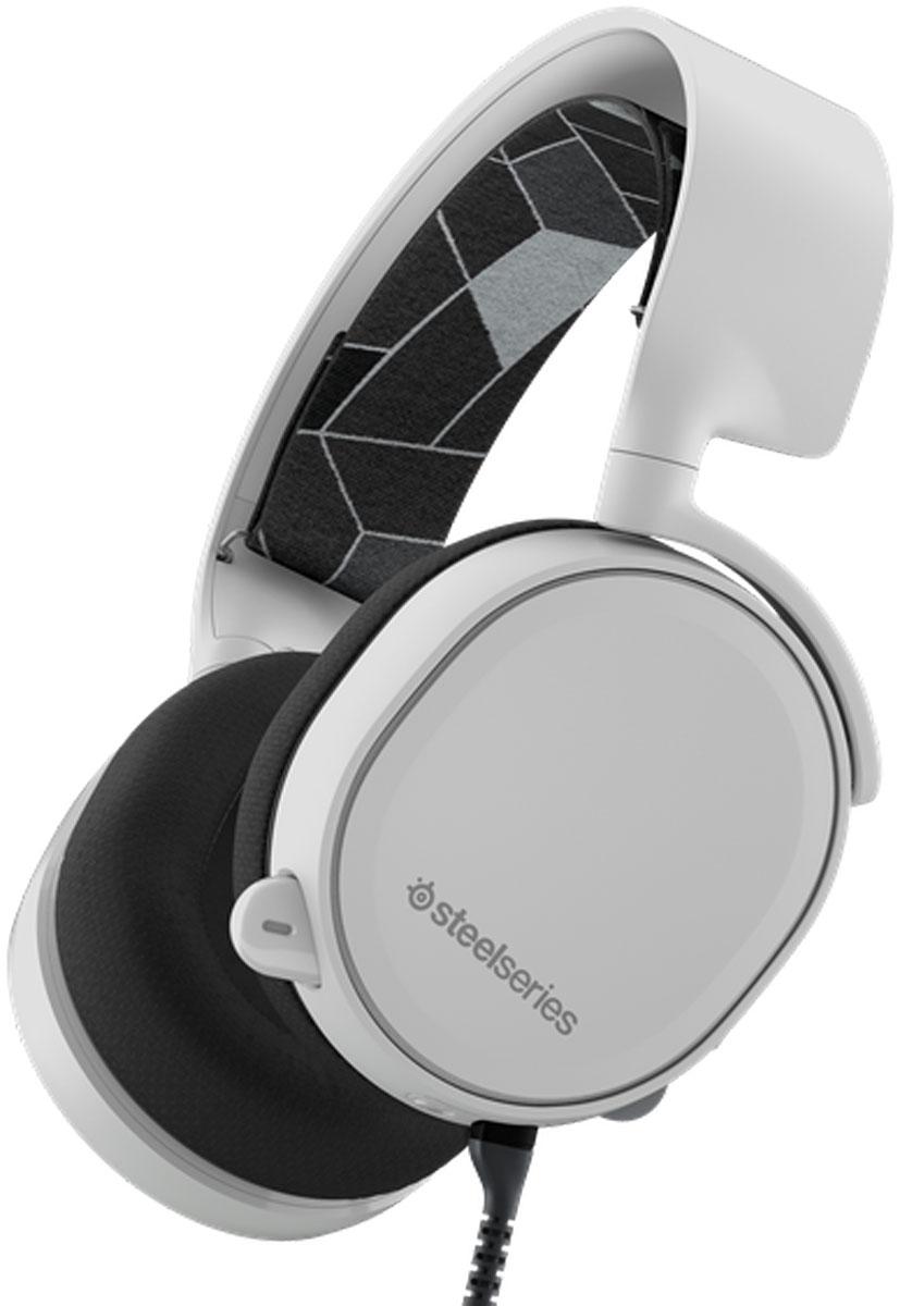 SteelSeries Arctis 3, White игровые наушники playstation