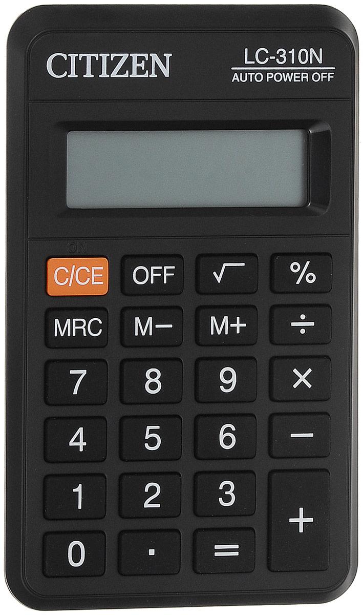 Citizen Калькулятор карманный LC-310N цвет черный