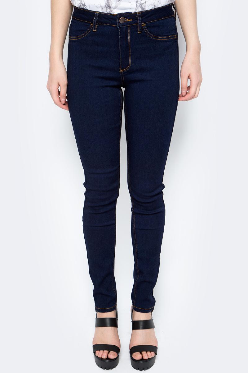 Брюки женские Sela, цвет: темно-синий. PJ-135/637-8102. Размер 33-32 (50-32) брюки sela брюки