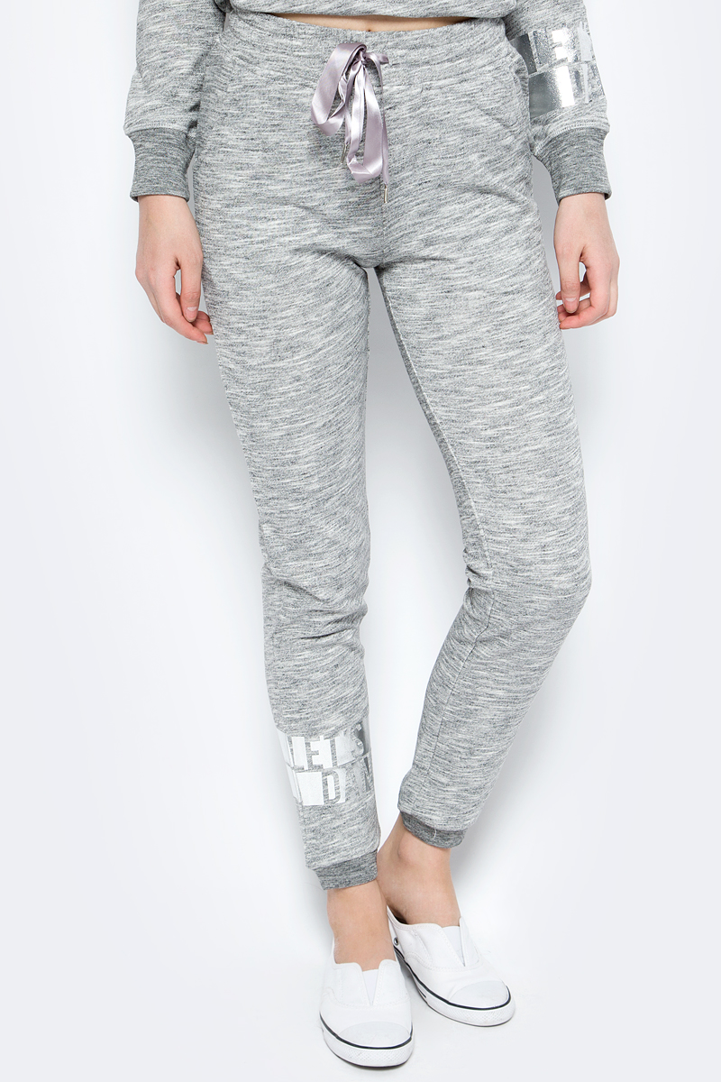 Брюки спортивные женские Sela, цвет: серый. Pk-115/864-8192. Размер XS (42) женские брюки 2015 ol