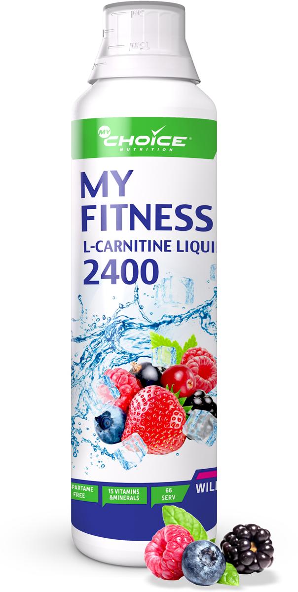 Жидкий концентрат L-карнитина MyChoice Nutrition My Fitness L-carnitine Liquid 2400, лесные ягоды, 500 мл4627126937551Жиросжигатель MyChoice My Fitness L-carnitine liquid 2400 - это концентрированный напиток с л-карнитином и натуральными экстрактами для ускорения процесса жиросжигания, оптимизации метаболизма, поддержания сердечно-сосудистой системы, а также защиты организма от возрастных изменений в удобной форме. Разработан специально для безопасного и эффективного контроля над своим весом, приятен на вкус и очень полезен. В своем составе не содержит углеводов и полностью бескалорийный. Рекомендации по применению: принимайте по 7,5 мл, используя мерный колпачок на бутылке, запивая водой или любимым напитком. Либо для получения готового напитка разбавьте порцию 7,5 мл концентрата в 150 - 200 мл воды или сока. Принимать за 30 - 40 минут до тренировки. Рекомендуемая продолжительность приема не более 4 - 6 недель, потом сделать перерыв 4 недели. Перед началом приема любого продукта обязательно проконсультируйтесь у специалиста.