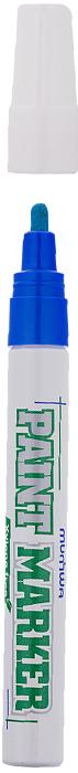 MunHwa Маркер-краска Xylene free цвет синий220116В составе растворителя отсутствует ксилол (называемый еще «диметилбензол») - маркеры не имеют специфичного запаха нитро-краски, хотя сохраняют самые важные свойства адгезии на любых материалах и устойчивость: нанесенный рисунок быстро высыхает на поверхности, не выгорает на ярком солнце и не смывается водой. Маркер-краска экологична и безопасна для окружающей среды и здоровья человека.