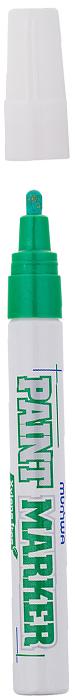 MunHwa Маркер-краска Xylene free цвет зеленый220118В составе растворителя отсутствует ксилол (называемый еще «диметилбензол») - маркеры не имеют специфичного запаха нитро-краски, хотя сохраняют самые важные свойства адгезии на любых материалах и устойчивость: нанесенный рисунок быстро высыхает на поверхности, не выгорает на ярком солнце и не смывается водой. Маркер-краска экологична и безопасна для окружающей среды и здоровья человека.