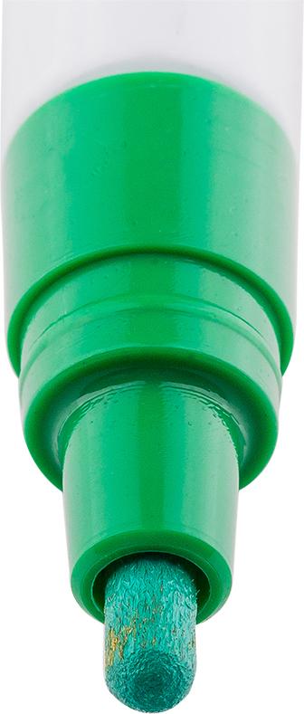 В составе растворителя отсутствует ксилол (называемый еще «диметилбензол») - маркеры не имеют специфичного запаха нитро-краски, хотя сохраняют самые важные свойства адгезии на любых материалах и устойчивость: нанесенный рисунок быстро высыхает на поверхности, не выгорает на ярком солнце и не смывается водой. Маркер-краска экологична и безопасна для окружающей среды и здоровья человека.