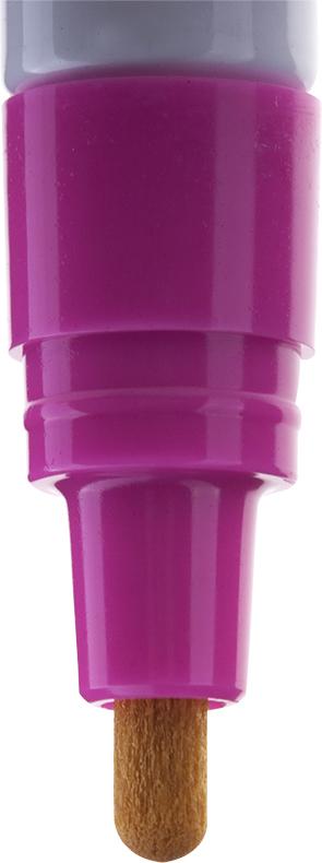 Водостойкая краска на нитрооснове не поддается атмосферным воздействиям и широко применяется в производстве для маркировки изделий из пластика, дерева, металла, камня, стекла, резины. Подвижный наконечник-дозатор регулирует поступление краски.