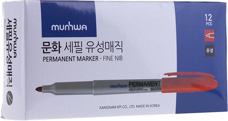 Перманентный маркер для письма по бумаге, металлу, пластику, керамике, коже и другим поверхностям. Яркий насыщенный цвет чернил. Время высыхания 30-40 секунд. Рабочая температура от -15 до 50 градусов/