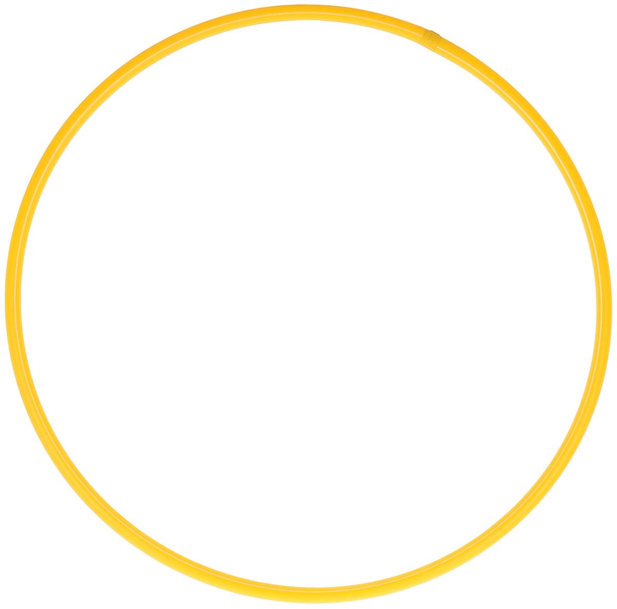 Затейники Обруч цвет желтый 60 см обруч алюминиевый