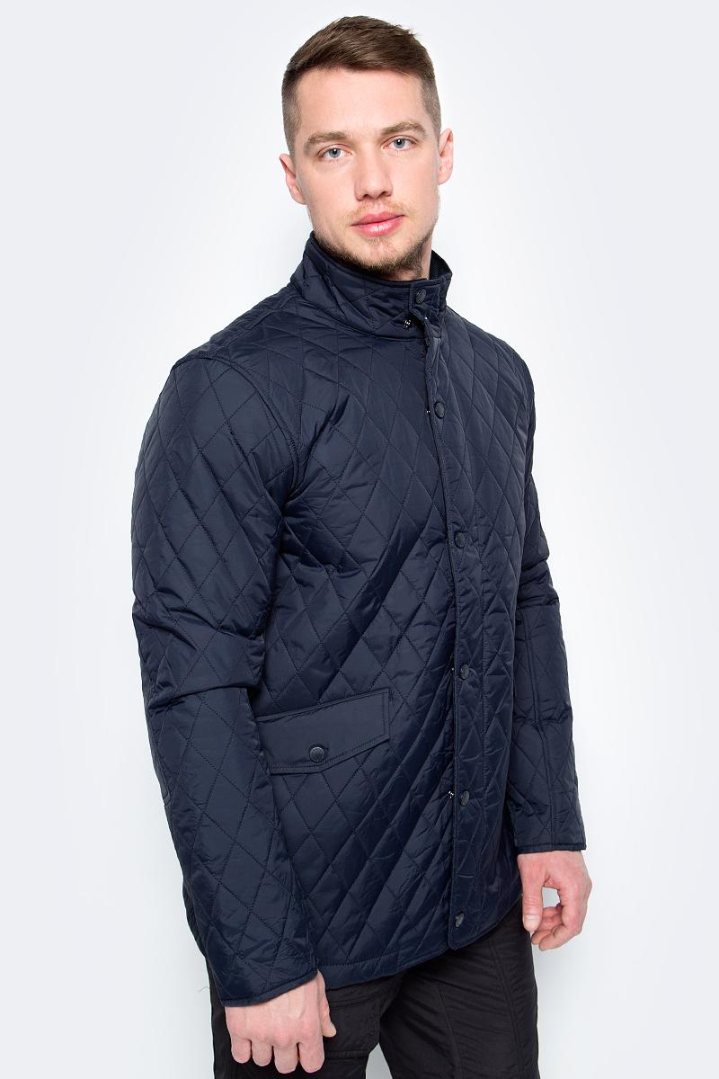 Куртка мужская Sela, цвет: темно-синий. Cp-226/415-8142. Размер S (46)