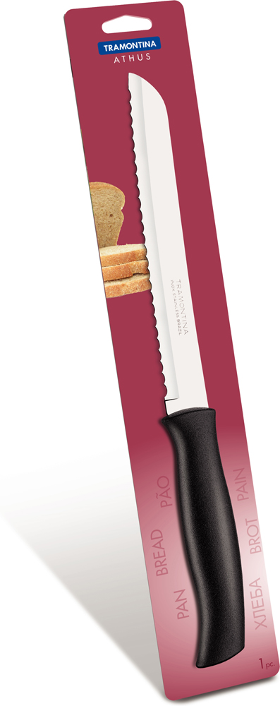 "Нож для хлеба Tramontina ""Athus"", длина лезвия 20 см"