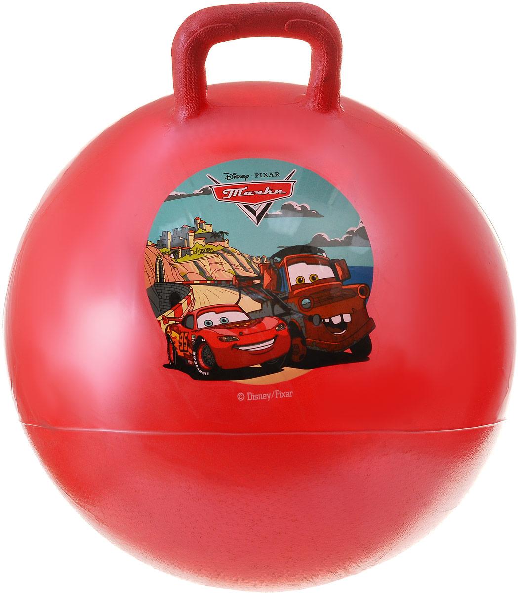Играем вместе Мяч-прыгунок Тачки с ручкой цвет красный 45 см играем вместе фигурная мозаика тачки играем вместе