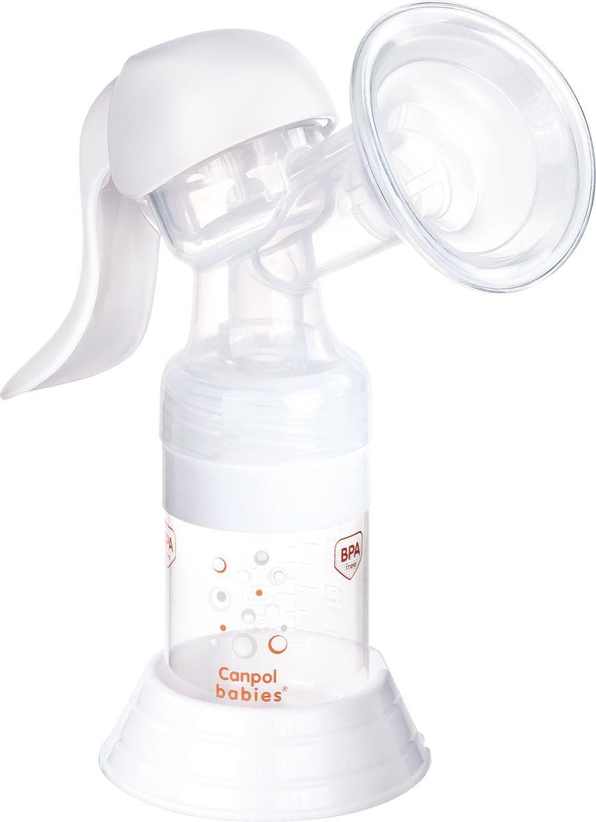 Молокоотсос ручной с принадлежностями, Canpol
