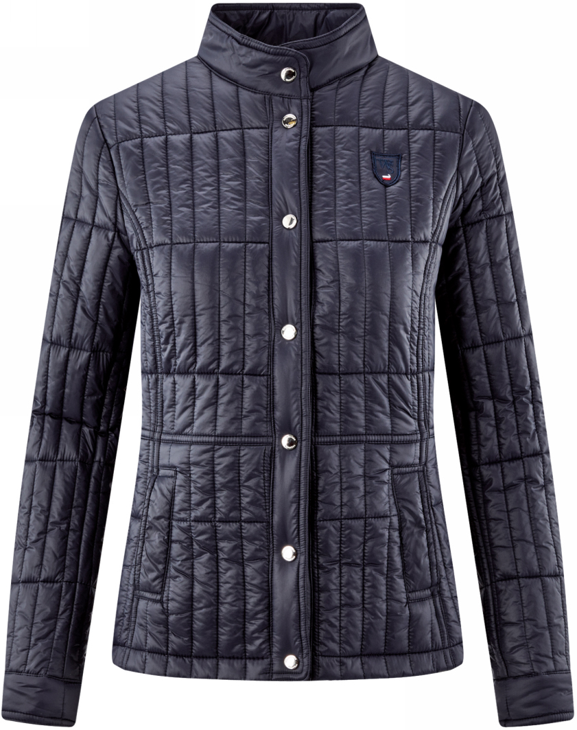 Куртка женская oodji Collection, цвет:  темно-синий.  28304011/33445/7900N.  Размер 46 (52-164) oodji