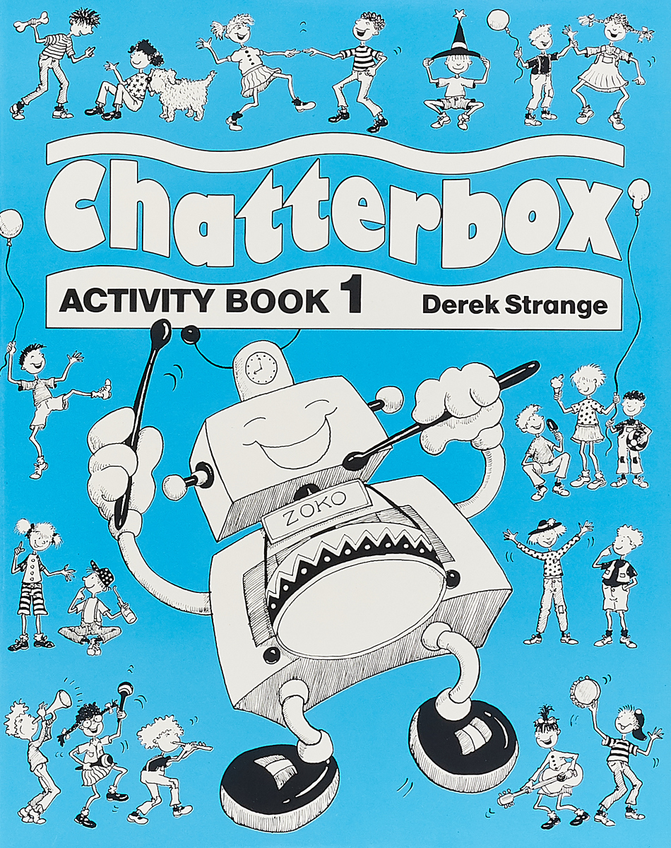 Derek Strange Chatterbox: Level 1: Activity Book transformers a fight with underbite activity book level 4