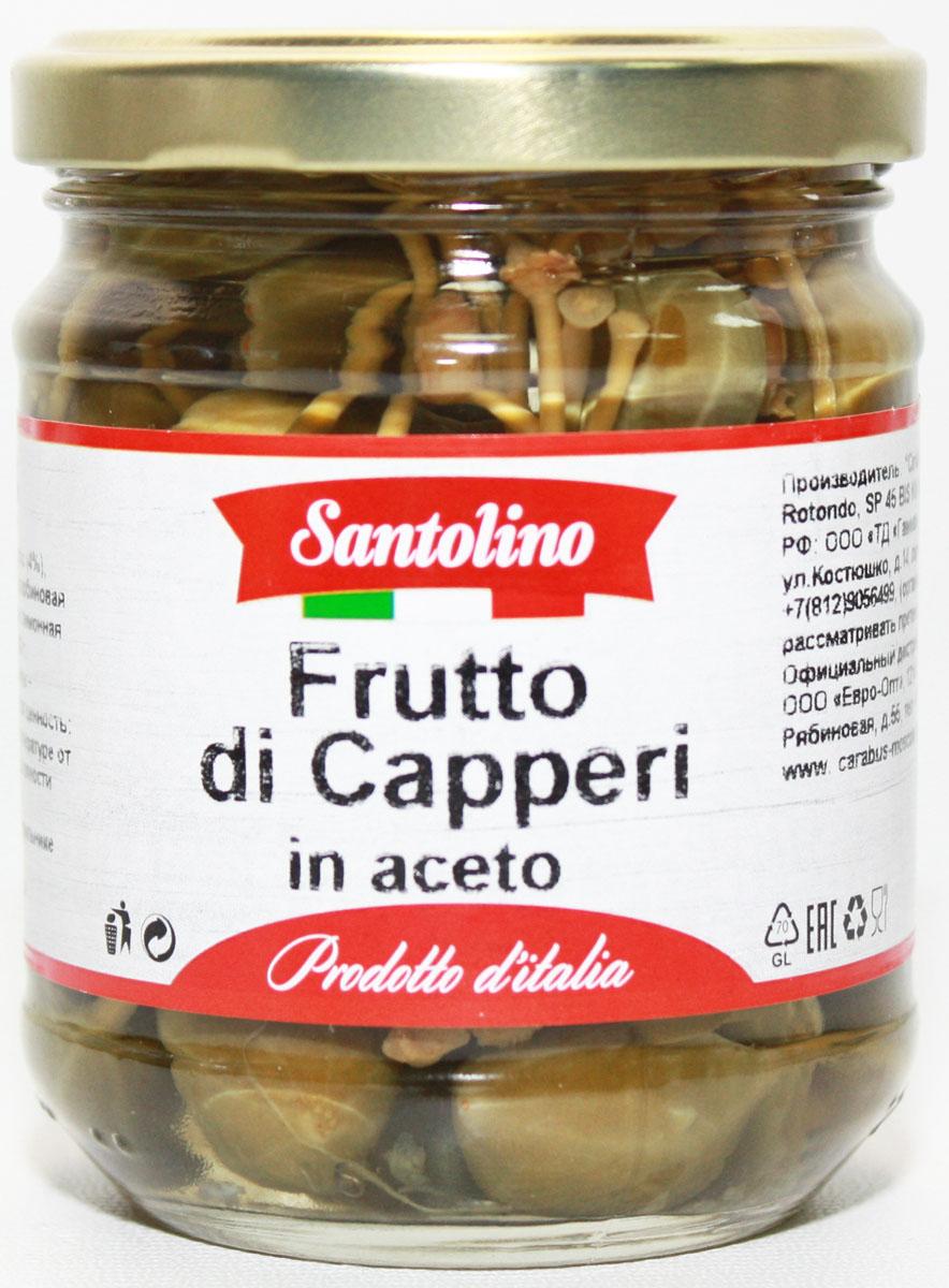 Santolino Плоды каперсов маринованные, 212 мл gold fish горбуша 245 г