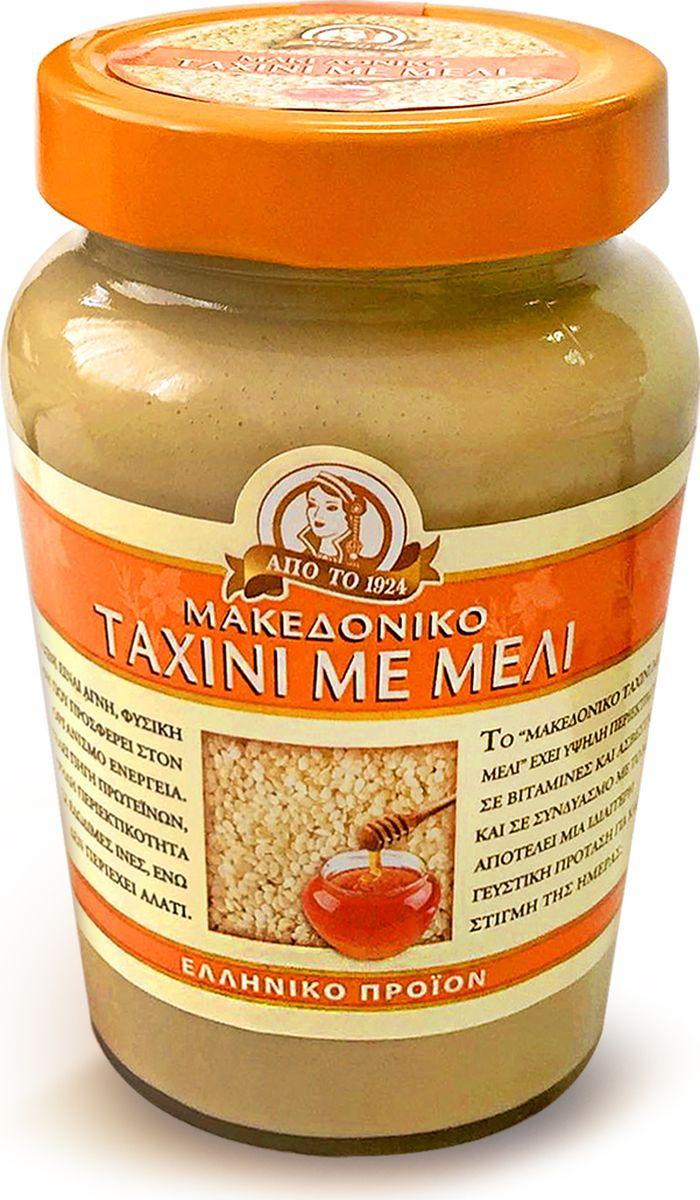 Кунжутная, или сезамовая паста Тахини - традиционный натуральный продукт восточной (арабской, еврейской, греческой и др.) кухни. Получают ее путем размалывания поджаренных зерен сезама (кунжута). В результате получается густая, но нежная, насыщенно однородная паста с мягкой кремовой структурой. По консистенции напоминает арахисовое масло. На Востоке она является необходимым компонентом ко многим блюдам и салатам. Тахинная масса используется для приготовления многих восточных сладостей, в том числе и одной из самых известных — халвы. В сочетании с другими продуктами паста тахини заставляет вкус блюда звучать совершенно по-новому, одновременно облагораживая его аромат. Вот почему на ее основе делается так много соусов и подливок. Греции и на Кипре — кипрские пирожки с тахини «тахина-пита» особенно популярны во время Великого Поста. Часто в тахини добавляют оливковое масло, лимонный сок, чеснок, молотый кумин, красный перец, петрушку и используют в качестве подливки или просто подают с питой или хлебом.Предлагаемая Тахини произведен без каких-либо химических добавок на любом этапе его производства.Стерилизован и пастеризован перед упаковкой. ТАХИНИ богата белком, витаминами и антиоксидантами.Это идеальное и полноценное питание, которое укрепляет здоровье, сердце, мозг.Прекрасный источник полезных витаминов т.к.: витамин B1, омега-3 и 3,4 мг омега-6, кальция, железа, меди и фосфора, цинка и минеральных веществ.Поможет наладить пищеварение, помогает при угревой сыпи, предотвращает выпадение волос.