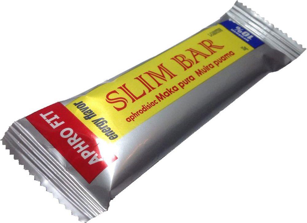 Батончик Aphro Fit Slim Bar, 35 г40115Насыщенный по содержанию аминокислот состав, питательные элементы и богатейший витаминный комплекс. Купаж афродизиаков удваивающий интенсивность тренировки.Состав: белково-питательная смесь Аймусс энергический, начинка термостойкая (абрикос, сахар), конопляная мука, лецитин соевый, эквивалент какао масла, L-карнитин, с нижней стороны покрыт кондитерской глазурью.