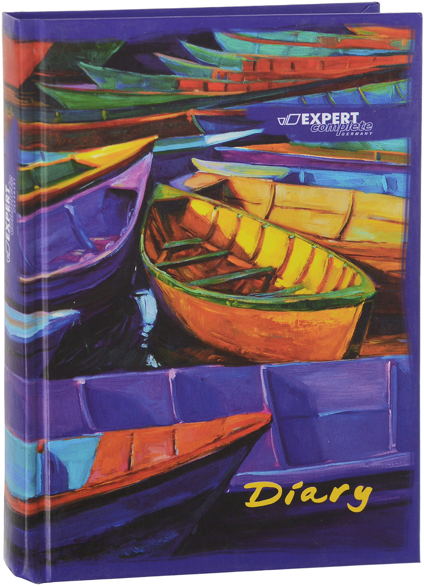 Expert Complete Ежедневник Art Лодки недатированный 288 листов формат A5 маркеры expert complete маркер перманентный тонкий pm 30 зеленый expert complete 12 шт