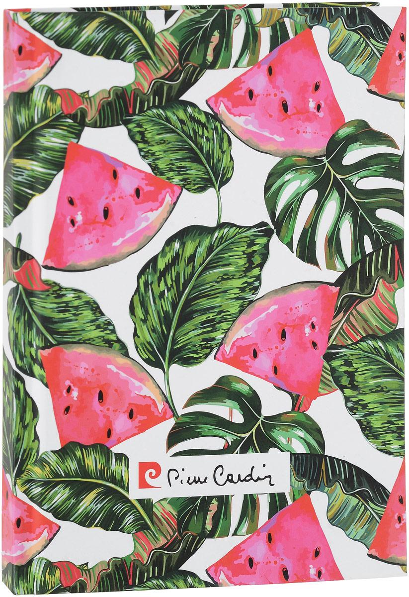 Pierre Cardin Блокнот Tropic Watermelon Арбузные дольки 96 листов в клетку формат A5 папки канцелярские pierre cardin папка каталог 40 листов geometrie pink
