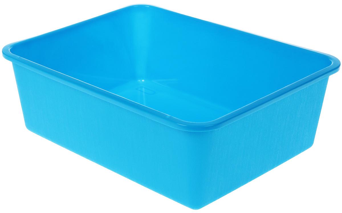 Туалет для кошек №1, цвет: синий, 42 х 33,5 х 14 см туалет для кошек curver pet life закрытый цвет кремово коричневый 51 х 39 х 40 см