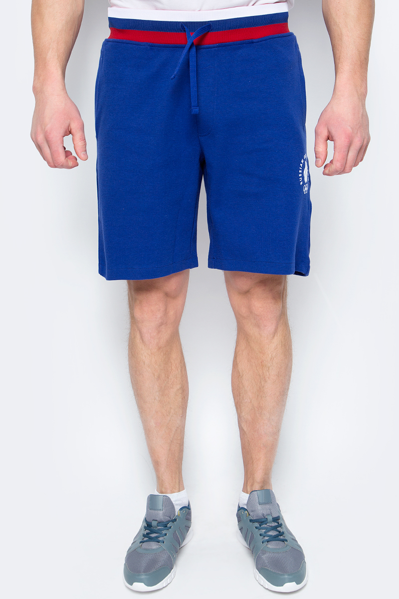 Шорты мужские ZASPORT, цвет: синий. OMA217-089/001-BLU. Размер XXL (52) цены онлайн
