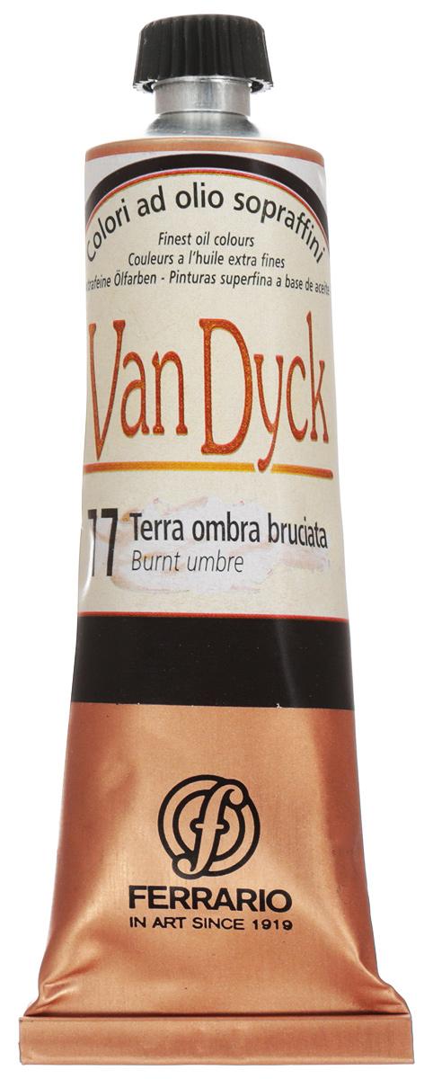 Ferrario Краска масляная Van Dyck цвет №77 умбра жженая 60 млAV0017CO77Масляные краски серии VAN DYCK итальянской компании Ferrario изготавливаются из натуральных мелко тертых пигментов с добавлением качественного связующего материала. Благодаря этому масляные краски VAN DYCK обладают превосходной светостойкостью, чистотой цветов и оттенков. Краски можно разбавлять льняным маслом, терпентином или нефтяными разбавителями. Все цвета хорошо смешиваются между собой. В серии масляных красок VAN DYCK представлено 87 различных оттенков, а также 6 металлических оттенков.Дополнительные характеристики: – Изготавливаются из натуральных мелко тертых пигментов с добавлением качественного связующего материала; – Краски хорошо смешиваются между собой;