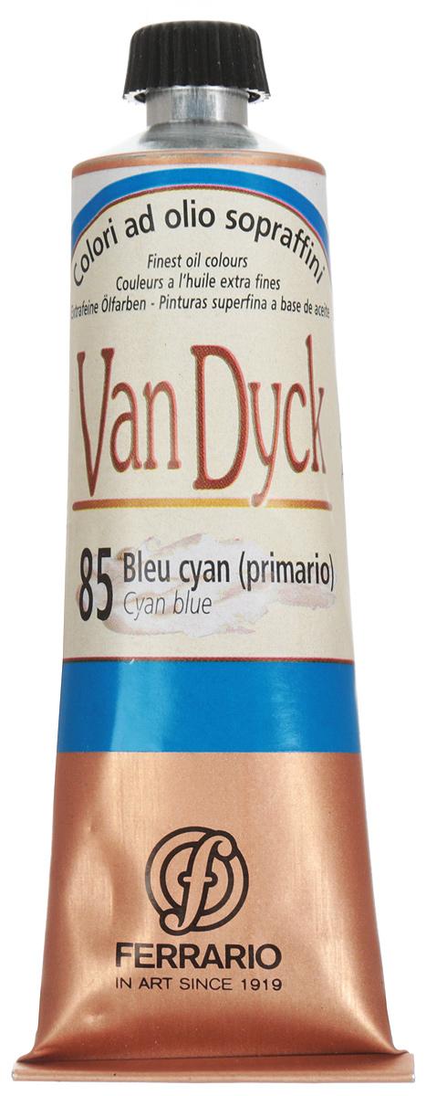 Ferrario Краска масляная Van Dyck цвет №85 глубокий синий 60 млAV0017CO85Масляные краски серии VAN DYCK итальянской компании Ferrario изготавливаются из натуральных мелко тертых пигментов с добавлением качественного связующего материала. Благодаря этому масляные краски VAN DYCK обладают превосходной светостойкостью, чистотой цветов и оттенков. Краски можно разбавлять льняным маслом, терпентином или нефтяными разбавителями. Все цвета хорошо смешиваются между собой. В серии масляных красок VAN DYCK представлено 87 различных оттенков, а также 6 металлических оттенков.Дополнительные характеристики: – Изготавливаются из натуральных мелко тертых пигментов с добавлением качественного связующего материала; – Краски хорошо смешиваются между собой;