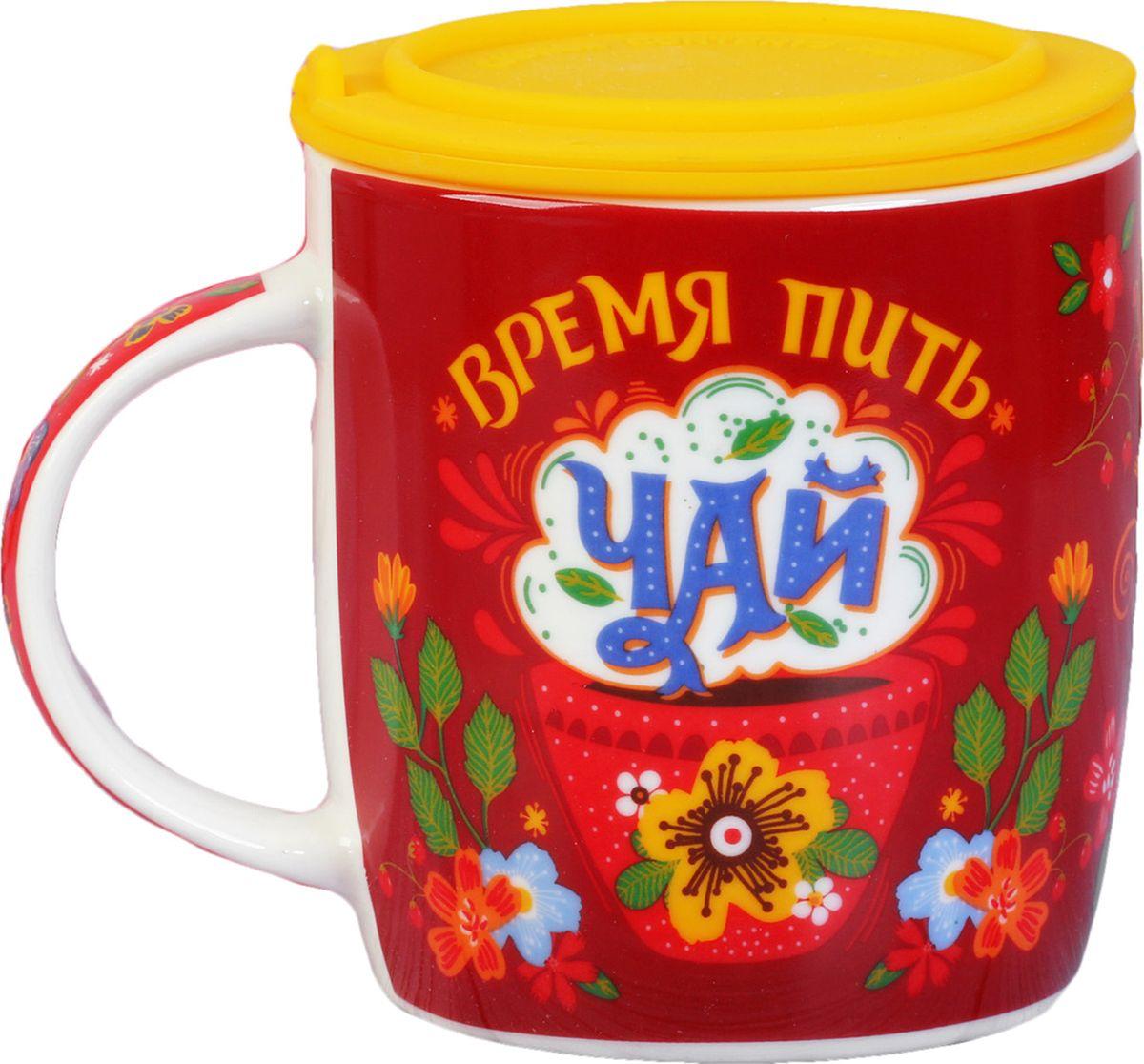 От качества посуды зависит не только вкус еды, но и здоровье человека. Кружка «Время пить чай» - товар, соответствующий российским стандартам качества. Любому будет приятно держать изделие в руках. С такой посудой чаепитие и сервировка стола превратятся в настоящий праздник.