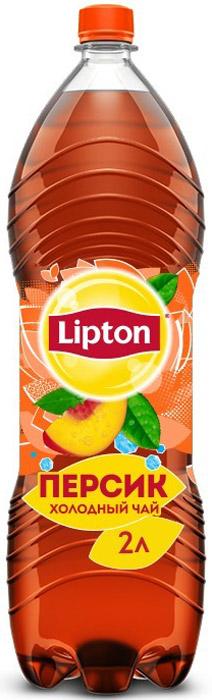 Lipton Ice Tea Персик холодный чай, 2 л lipton черный чай bombay bazaar 20 шт
