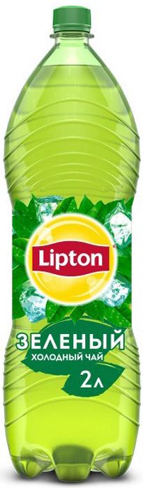 Lipton Ice Tea Зеленый холодный чай, 2 л lipton 0 5