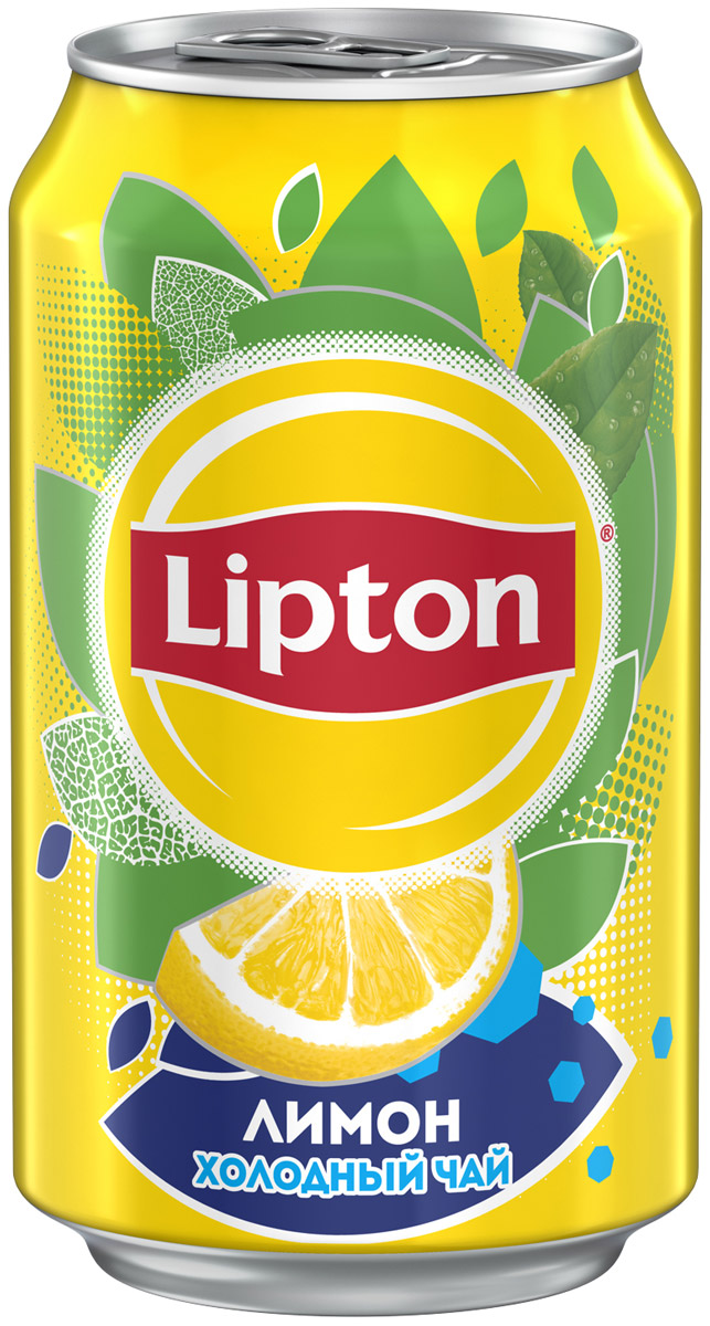 Lipton Ice Tea Лимон холодный чай, 0,33 л pfanner чай холодный желтый лимон физалис 2 л