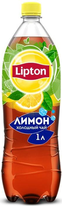 Lipton Ice Tea Лимон холодный чай, 1 л lipton ice tea персик холодный чай 1 5 л