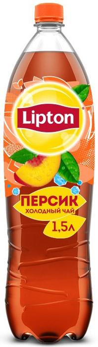 Lipton Ice Tea Персик холодный чай, 1,5 л lipton лимон холодный чай 0 33 л